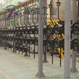 汽车铝轮毂喷涂生产线 涂装设备实力厂家