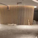 梯式隔斷背景牆鋁格柵方管 浮動式造型鋁方管格柵