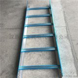 深圳梯式桥架厂-竖井梯式电缆桥架-户外铝质梯形线槽