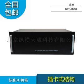纵横天成8进24出DVI分配器插卡式结构