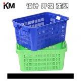 週轉箱塑料蔬菜筐水果箱注塑模具 物流中轉箱子