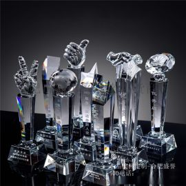 合肥谁将奖杯定制雕刻LOGO-合肥水晶奖杯定做厂家
