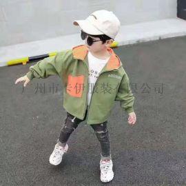 巴拉巴拉新款童套装 卡通儿童服装 加盟折扣品牌童装