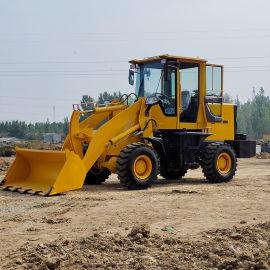 农用小型挖掘机 多功能四驱无级变速铲车
