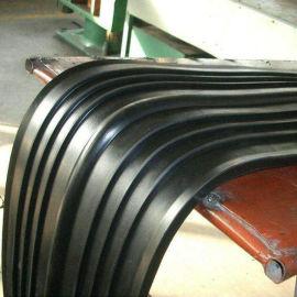 中埋式橡胶止水带厂家 背贴式橡胶止水带 钢边止水带