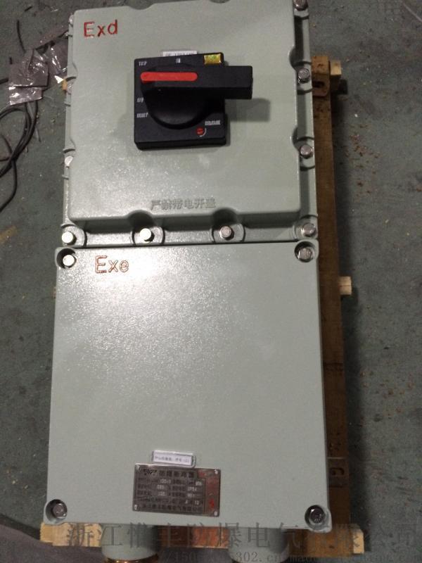 防爆断路器带漏电保护器BDZ52