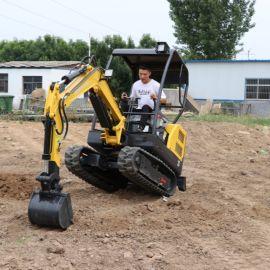 多功能履带式农用挖掘机 加强版开沟机
