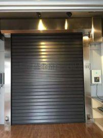 衡阳市 水泥厂房涡轮硬质快速门生产安装