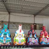 风雨诸神龙王雕塑厂家 四海龙王塑像 五龙爷像