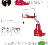篮球架选购平箱移动式篮球架 弹性平衡篮球架多少钱