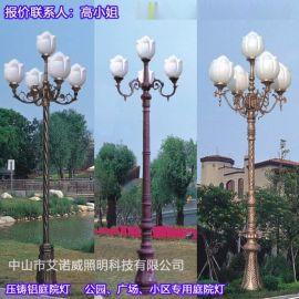 碧桂园小区庭院灯应用效果案例图
