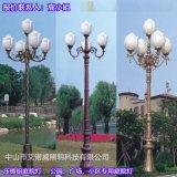 碧桂園小區庭院燈應用效果案例圖