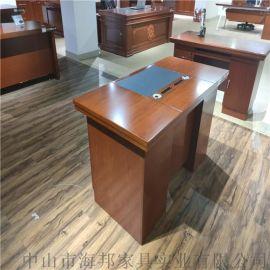 海邦 辦公桌规格齐全 光面辦公桌 厂家生产