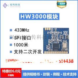HW3000完美替换si4432、CC1101