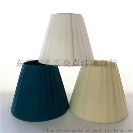 手工布艺灯罩绕布条DIY台灯配件