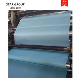 无纺布淋膜加工 一次性隔离服面料 日产20万米