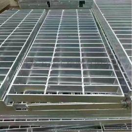 珠海 钢结构构件镀锌钢格板 工业建筑用扁铁钢格板