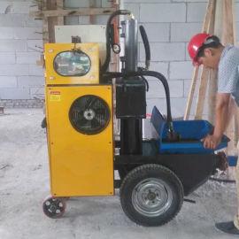 新型砂浆泵注浆泵室内上料二次构造浇灌泵