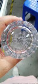 上海玻璃杯激光燙字印字加工
