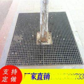 树池钢盖板/水篦子沟盖板/热镀锌格栅板/球形栏杆