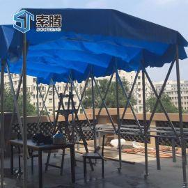 河南洛阳市伸缩式车库遮阳篷烧烤篷户外遮阳棚全国发货
