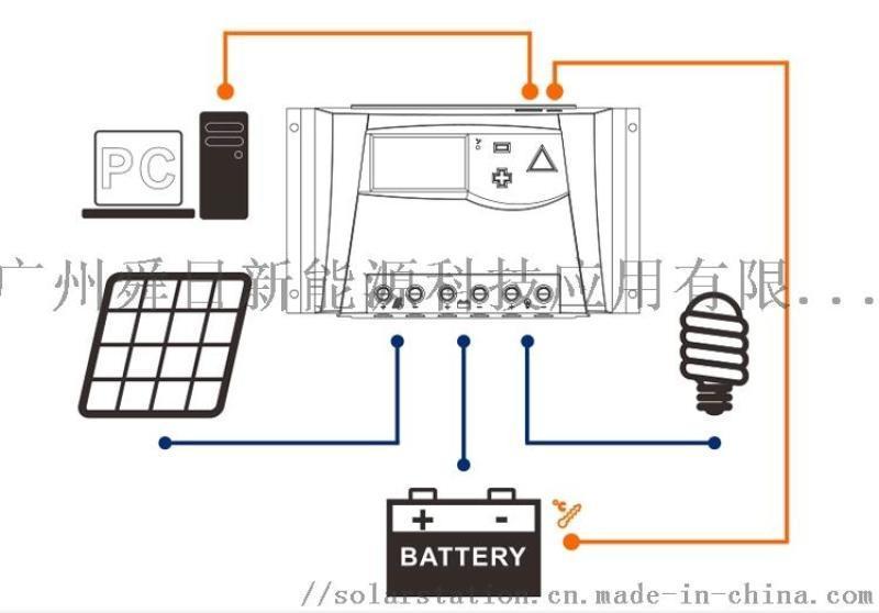 厂家直销10A 20A 太阳能控制器