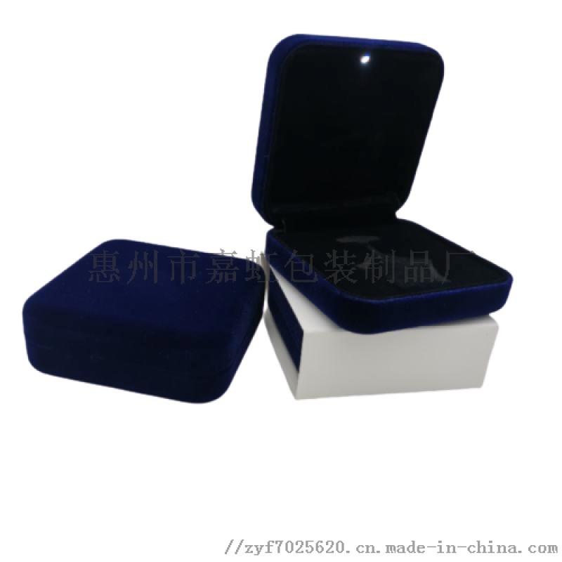 厂家定制徽章盒绒布徽章盒 定制徽章盒