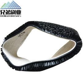 定做工业除尘防水传动带刷生产流水线传动清洁皮带刷