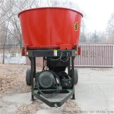 牛草圆捆粉碎机,牧场草捆粉碎机,养殖草捆破碎机