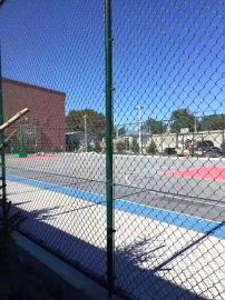 湖南益阳勾花护栏网笼式足球场围网铁路护栏网生产厂家