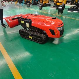 新型履带微耕机自动旋耕机山地耕整田园管理机