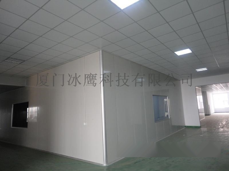 厦门玻镁板隔墙吊顶 防火不老泡夹心板隔断建设