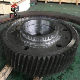 洛阳厂家专业加工非标齿**模数回转窑高精密齿轮