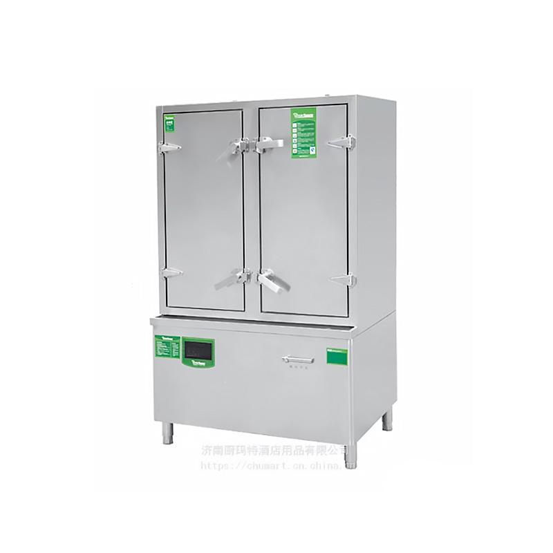 佰洁电磁单双门蒸饭柜DCZFG-600-12
