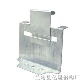 广东470彩钢瓦角驰暗扣支架