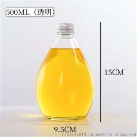 玻璃橙汁瓶加工定制玻璃橙汁饮料瓶生产厂家