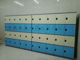健身房 衣室专用易安格塑料储物柜 衣柜 衣凳