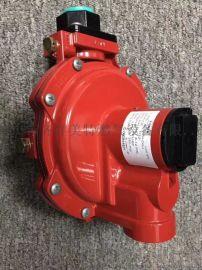 费希尔 R622H-DGJ红色燃气减压阀