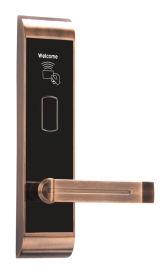 电子锁铁门刷卡锁感应锁酒店智能磁卡锁