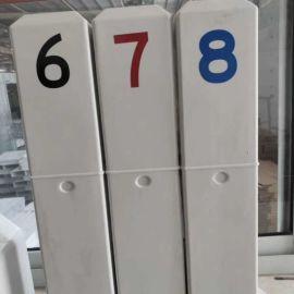 玻璃钢管线标识牌 霈凯标志桩 安全保护区标志桩