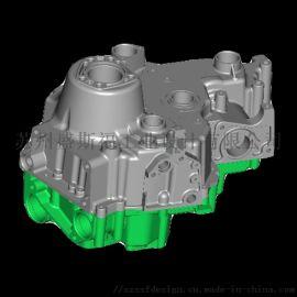 苏州发动机三维模型 模具抄数测绘