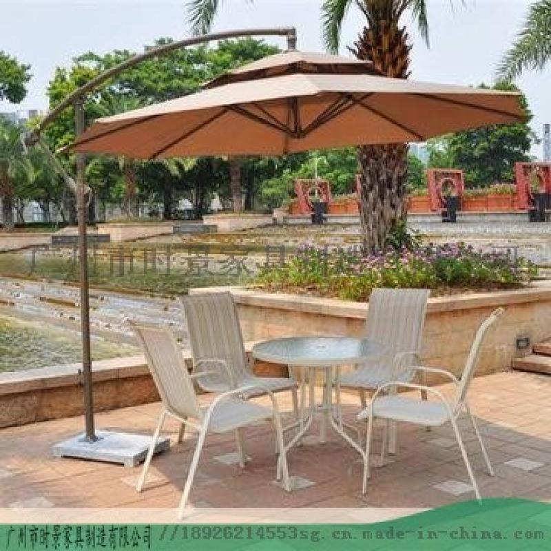 晴天花園戶外遮陽傘-廣州時景傢俱遮陽傘價錢優惠