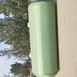 三格式水处理罐销售玻璃钢工业污水净化池