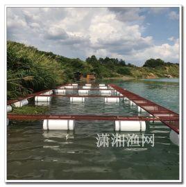 尼龙网箱 无结孵化鱼种网箱 潇湘渔网养殖网箱平台