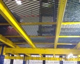 网孔20钢板网 机械设备平台防护网 平台作业脚踏网