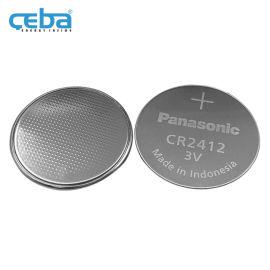 丰田汽车遥控器钥匙纽扣电池3V锂锰电池CR2412