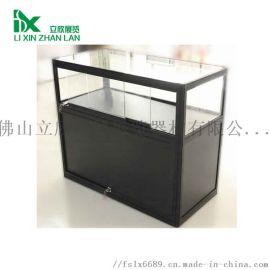 山东折叠便捷式展柜 珠宝首饰玻璃展示柜 钛合金柜