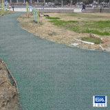 透水混凝土地面 彩色透水混凝土地面 材料施工兼营