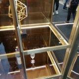爆品青古铜不锈钢酒柜 彩色恒温酒柜展示柜   架