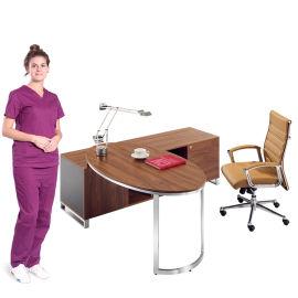 单人实木办公桌 SKZ311办公桌 简约办公桌